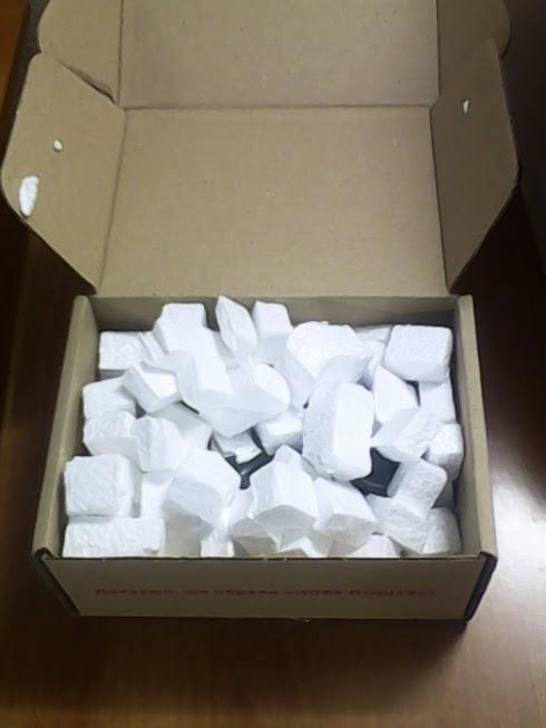 Коробка с радиодеталями